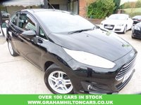 USED 2013 13 FORD FIESTA 1.2 ZETEC 3d 81 BHP 1 PREVIOUS OWNER, AIR CON, ALLOYS, FULL SERVICE HISTORY, SPARE KEY