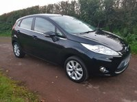 USED 2010 10 FORD FIESTA 1.2 ZETEC 5d 81 BHP **LOW MILEAGE**LOVELY CONDITION**SUPERB DRIVE**