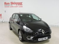 USED 2017 66 RENAULT CLIO 0.9 DYNAMIQUE NAV TCE 5d 89 BHP with GT Line Look Pack + 16in Alloys with GT Line Look Pack + 16in Alloys