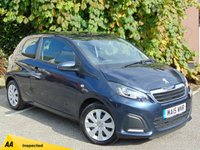 USED 2015 15 PEUGEOT 108 1.0 ACTIVE 3d  **LOW RUNNING COSTS**