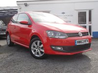 USED 2013 63 VOLKSWAGEN POLO 1.4 MATCH EDITION DSG 3d AUTO 83 BHP