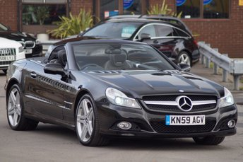 2009 MERCEDES-BENZ SL 3.5 SL350 2d AUTO 315 BHP £18795.00