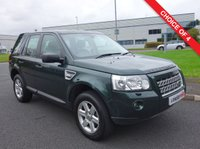 USED 2009 59 LAND ROVER FREELANDER 2.2 TD4 GS 5d AUTO 159 BHP