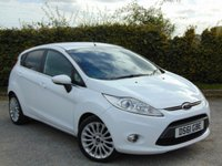 USED 2011 61 FORD FIESTA 1.4 TITANIUM TDCI 5d * ONE OWNER FROM NEW *