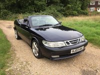 USED 2003 03 SAAB 9-3 2.0 SE TURBO ECO 2d 154 BHP Convertible, Full Leather