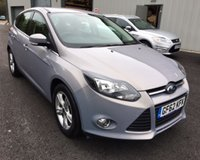 USED 2012 62 FORD FOCUS 1.6 ZETEC THIS VEHICLE IS AT SITE 1 - TO VIEW CALL US ON 01903 892224
