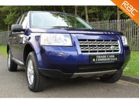 USED 2009 59 LAND ROVER FREELANDER 2 2.2 TD4 E S 5d 159 BHP A ONE OWNER BALI BLUE FREELANDER WITH A FULL SERVICE HISTORY!!!