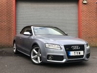 USED 2009 09 AUDI A5 3.0 TDI QUATTRO S LINE 2d AUTO 240 BHP FULL LEATHER+SAT NAV+XENON+PDC