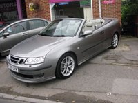 2005 SAAB 9-3 2.0 AERO T 2d AUTO 210 BHP CONVERTIBLE £SOLD