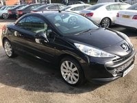 USED 2007 07 PEUGEOT 207 1.6 GT COUPE CABRIOLET 2d 118 BHP
