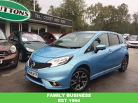 2014 NISSAN NOTE 1.2 TEKNA STYLE DIG-S 5d AUTO 98 BHP £8489.00