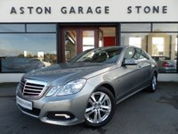 USED 2010 10 MERCEDES-BENZ E CLASS 1.8 E200 CGI BLUEEFFICIENCY AVANTGARDE 4d AUTO 184 BHP ** SAT NAV * LEATHER * FULL MERCEDES SERVICE HISTORY **