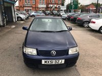 USED 2001 51 VOLKSWAGEN POLO 1.4 MATCH 3d AUTO 60 BHP