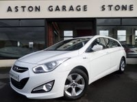 USED 2013 63 HYUNDAI I40 1.7 CRDI ACTIVE BLUE DRIVE 5d 114 BHP ** ONE OWNER * BLUETOOTH **