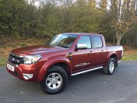 2011 FORD RANGER 2.5 XLT 4X4 DCB TDCI 1d 143 BHP LEATHER SIDE BARS CARGO LINING LOAD COVER NO VAT £12390.00