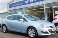 """USED 2014 64 VAUXHALL ASTRA 1.6 ELITE 5dr AUTOMATIC (115 bhp) .....ONE OWNER, FULL VAUXHALL SERVICE HISTORY, FULL LEATHER, CRUISE CONTROL,17"""" ALLOYS, CLIMATE CONTROL"""