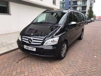 USED 2014 64 MERCEDES-BENZ VIANO 3.0 122 CDI BLUEEFFICENCY AMBIENTE 5d AUTO 224 BHP