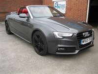 2013 AUDI A5 2.0 TDI S LINE SPECIAL EDITION 2d 175 BHP £SOLD