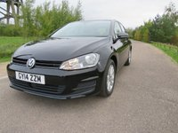USED 2014 14 VOLKSWAGEN GOLF 2.0 SE TDI BLUEMOTION TECHNOLOGY 5d 148 BHP RECENTLY SERVICED! 1 OWNER!