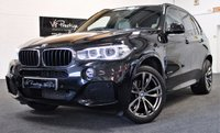 "USED 2013 63 BMW X5 3.0 XDRIVE30D M SPORT 5d AUTO 255 BHP NEW MODEL-BLACK PACK-20""ALLOYS"