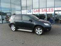 USED 2008 08 TOYOTA RAV4 2.2 T180 D-4D 5d 175 BHP FREE 12 MONTHS RAC WARRANTY AND FREE 12 MONTHS RAC BREAKDOWN COVER