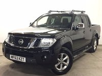 USED 2013 63 NISSAN NAVARA 2.5 DCI TEKNA 4X4 SHR DCB 1d 188 BHP LEATHER SIDE STEPS ONE OWNER FSH NO FINANCE REPAYMENTS FOR 2 MONTHS STC. COMMERCIAL (£11900+2380VAT). 4WD. STUNNING BLACK MET WITH FULL BLACK LEATHER TRIM. ELECTRIC HEATED SEATS, CRUISE CONTROL. AIR CON. RUNNING BOARDS. 17 INCH ALLOYS. COLOUR CODED TRIMS. PRIVACY GLASS. ROOF RACK/RAILS. BLUETOOTH PREP. PAS. R/CD PLAYER. 6 SPEED MANUAL. MFSW. MOT 09/18. ONE OWNER FROM NEW. FULL SERVICE HISTORY. FCA FINANCE APPROVED DEALER. TEL 01937 849492
