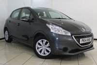 USED 2014 14 PEUGEOT 208 1.2 ACCESS PLUS 5DR 82 BHP FULL SERVICE HISTORY + AIR CONDITIONING + CRUISE CONTROL + RADIO/CD + ELECTRIC WINDOWS