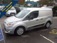 2014 FORD TRANSIT CONNECT 1.6 200 95 BHP, TREND MODEL, SHORT WHEEL BASE, HIGH SPEC, 1 OWNER VAN, FULL SERVICE HISTORY, AIR CON, 3 SEATS £7800.00