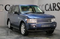USED 2007 56 LAND ROVER RANGE ROVER 3.6 TDV8 HSE 5d AUTO 272 BHP TWO PREV OWNERS EXCELLENT SERVICE HISTORY FULL PARCHMENT HEATED MEM LEATHER SEATS PIPED IN BLUE SAT NAV WITH REVERSE CAMERA AND BLUETOOTH FRONT AND REAR PARKING SENSORS HEATED ELECTRIC ADJUSTABLE MULTI-FUNCTION STEERING WHEEL DRIVES BEAUTIFULLY DETATCHABLE TOWBAR AND ELECTRICS EXCELLENT CONDITION THROUGHOUT