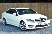 USED 2014 64 MERCEDES-BENZ C CLASS COUPE 1.6 C180 AMG SPORT EDITION 2d 154 BHP MERCEDES SERVICE HISTORY.