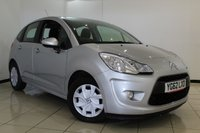 USED 2012 62 CITROEN C3 1.4 E-HDI EGS AIRDREAM VTR PLUS 5DR AUTOMATIC 68 BHP FULL SERVICE HISTORY + AIR CONDITIONING + CRUISE CONTROL + AUXILIARY PORT + RADIO/CD