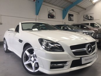 2011 MERCEDES-BENZ SLK 1.8 SLK200 BLUEEFFICIENCY AMG SPORT ED125 2d AUTO 184 BHP £14990.00