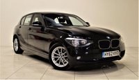 USED 2012 62 BMW 1 SERIES 1.6 116D EFFICIENTDYNAMICS 5d 114 BHP 1 OWNER ONLY + EXCELLENT CONDITION