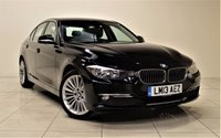 USED 2013 13 BMW 3 SERIES 2.0 320D LUXURY 4d AUTO 184 BHP + 1 OWNER + FULL SERVICE HISTORY + EXCELLANT CONDITION