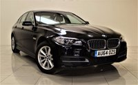 USED 2014 64 BMW 5 SERIES 2.0 520D SE 4d 188 BHP + 1 OWNER FROM NEW  +  EXCELLENT CONDITION