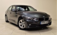 USED 2014 64 BMW 3 SERIES 2.0 320D EFFICIENTDYNAMICS 4d AUTO 161 BHP + LOW TAX + 1 OWNER FROM NEW + UPTO 70 MPG + SAT NAV + AUX + BLUETOOTH