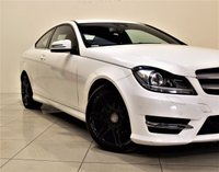 USED 2012 62 MERCEDES-BENZ C-CLASS 2.1 C220 CDI BLUEEFFICIENCY AMG SPORT PLUS 2d AUTO 168 BHP + 2 PREV OWNER FROM NEW + SERVICE HISTORY