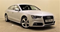 USED 2012 12 AUDI A5 2.0 TDI S LINE S/S 5d 177 BHP AIR CON + AUX + LEATHER SEATS + 1 PREV OWNER + EXCELLENT CONDITION