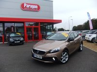 2014 VOLVO V40 1.6 D2 CROSS COUNTRY LUX 5d AUTO 113 BHP £10795.00