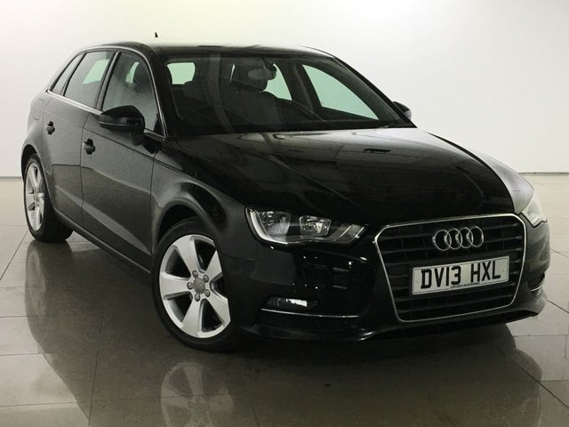 View our 2013 13 AUDI A3 2.0 TDI SPORT 5d 148 BHP