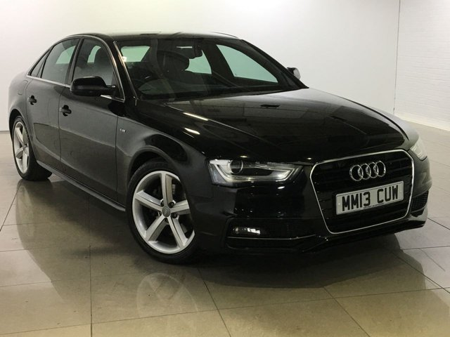 View our 2013 13 AUDI A4 2.0 TDI S LINE 4d 174 BHP