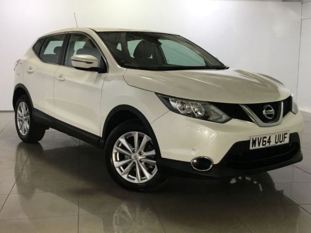 View our 2014 64 NISSAN QASHQAI 1.5 DCI ACENTA SMART VISION 5d 108 BHP