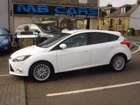 USED 2012 12 FORD FOCUS 1.6 ZETEC TDCI 5d 113 BHP 1 OWNER FROM NEW,£20 ROAD TAX, F.S.H