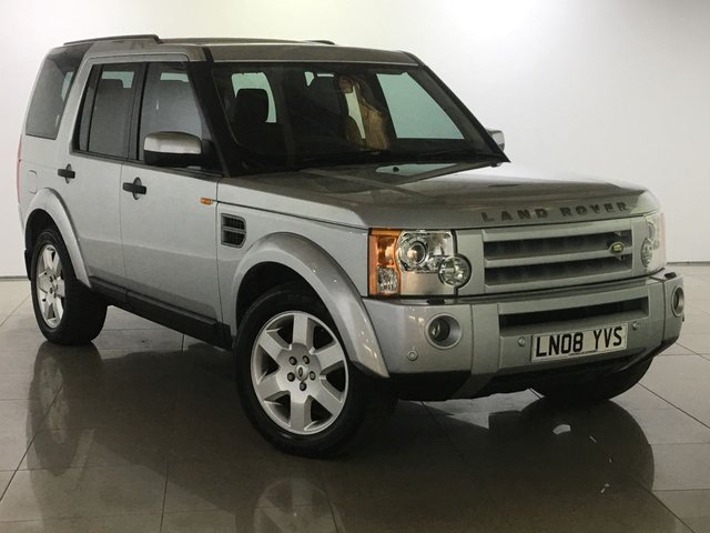 View our 2008 08 LAND ROVER DISCOVERY 2.7 3 TDV6 HSE 5d AUTO 188 BHP