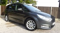 USED 2015 65 FORD GALAXY 2.0 TITANIUM X TDCI 5dr HUGE Specification, Stunning