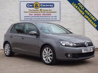 USED 2012 61 VOLKSWAGEN GOLF 2.0 GT TDI 5d 138 BHP Full History Leather Upgrade 0% Deposit Finance Available