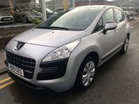 USED 2009 M PEUGEOT 3008 1.6 ACTIVE 5d 120 BHP