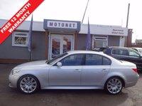 2007 BMW 5 SERIES 2.0 520D M SPORT 4DR 175 BHP DIESEL £6440.00