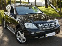 2006 MERCEDES-BENZ M CLASS 3.0 ML320 CDI SPORT 5d AUTO 222 BHP £8995.00