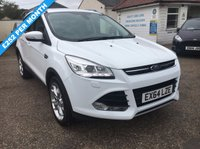 USED 2014 64 FORD KUGA 2.0 TITANIUM X TDCI 5d 160 BHP PAN ROOF / LEATHER / ALLOYS / REVERSE CAMERA / LOW MILEAGE